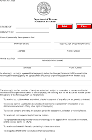 Limited Power Of Attorney Georgia by Georgia Power Of Attorney Form Download Free U0026 Premium Templates
