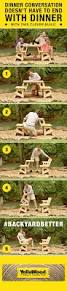 Plans For Picnic Table Bench Combo by Best 25 Diy Picnic Table Ideas On Pinterest Outdoor Tables