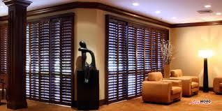 interior design remote controlled sunburst shutters for home