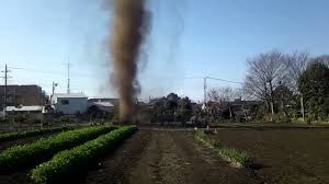 Small by Amazing Small Tornado Attack In Japan Youtube
