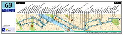 Route Map by Ratp Route Maps For Paris Bus Lines 60 Through To 69