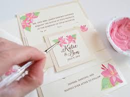 Popular Personal Wedding Invitation Cards Hand Painted Wedding Invitations Hand Painted Wedding Invitations
