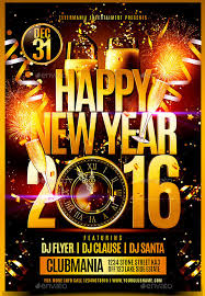 happy new years posters 25 new year flyer templates 2016 free psd eps indesign word