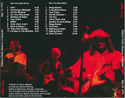 Bathtub Boogie Little Feat Shows From 1973 3 Discs