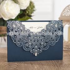 navy blue wedding invitations wishmade navy blue wedding invitation card with blue