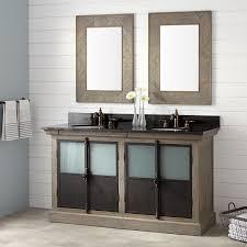 Oak Bathroom Cabinet 60