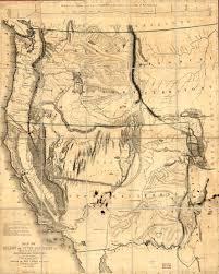 Oregon And Washington Map by Washinton State History