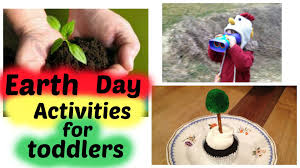 earth day activities for toddlers youtube