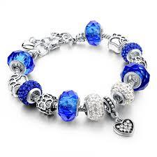 glass bead bracelet charms images Buy szelam gift fashion diy crystal glass jpg