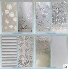 PVC FROSTED STICKER Glass Privacy Shower Screen Window Cover Self