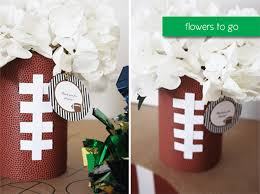 football centerpieces football centerpieces for day b lovely events
