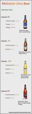 michelob ultra light calories calories in ultra light beer www lightneasy net