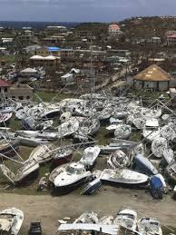 strengthening hurricane maria a threat to irma hit caribbean the