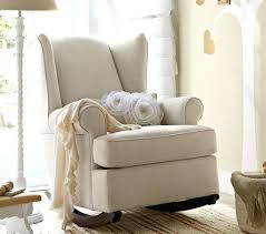 Rocking Chair Baby Nursery Extraordinary Baby Glider And Ottoman Furniture Padded Glider