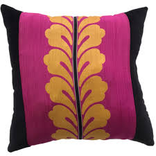 Throw Pillow Asian Vintage Fabric