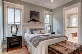 sherwin williams contented bedroom contemporary with built in