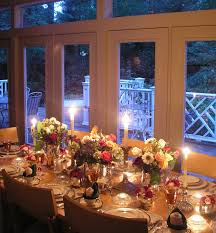 Artistic Flatware Dining Room Romantic Dinner Table Set With Artistic Flatware And