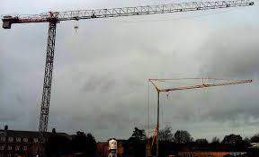 tower cranes in ormskirk mantis cranes tower crane hire