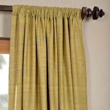 get spanish moss raw silk curtain panels silk drapes