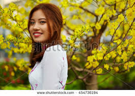 asian beauty woman beautiful happy vietnamese stock photo