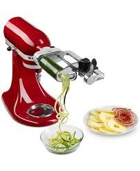 Kitchen Aid Standing Mixer by Kitchenaid Ksm1apc Spiralizer Stand Mixer Attachment Electrics
