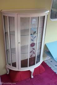 Curio Cabinet Makeover by Diy Display Cabinet Diy Project