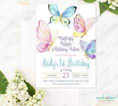 butterfly invitations butterfly birthday invitation pink and gold birthday