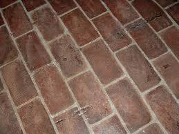 Brick Floor Kitchen by How To Install Kitchen Brick Flooring Hunker