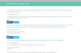 ultimate faq u2014 extensions wordpress