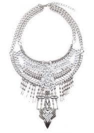 silver boho necklace images Legend boho statement necklace happiness boutique jpg