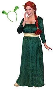 Amazon Prime Halloween Costumes Amazon Women U0027s Princess Fiona Shrek Size Supersize