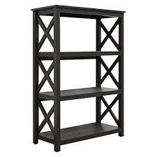 target 3 shelf bookcase open format 3 shelf bookcase dakota oak threshold target
