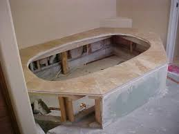 Travertine Bathrooms Designs By Golden Travertine Bathroom Shower Tub Surround Floors