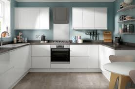 soho gloss white kitchen modern style range benchmarx
