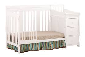 Convertible Crib 4 In 1 by Storkcraft Portofino 4 In 1 Convertible Crib And Changer Walmart