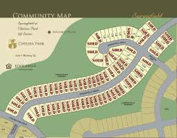 Springfield Map Chelsea Park Site Maps Eddleman Residential