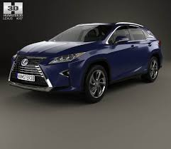 lexus suv hybrid colors lexus rx hybrid 2016 3d model hum3d