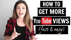 how to get how to get more views on youtube youtube