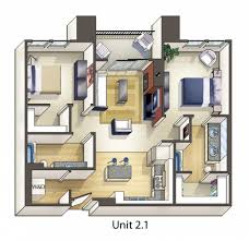 Bedroom Furniture Layout Plan Modern Home Interior Design Small Apartment Furniture Layout