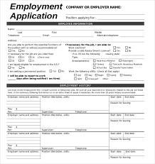 application form example printable internship application form