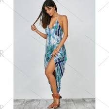 light blue halter maxi dress light blue halter plunging neck floral print backless maxi dress for