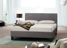 4ft bed birlea berlin 4ft small double fabric bed frame in grey beds