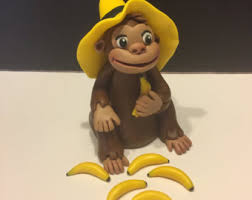 curious george cake topper curious george cake topper etsy