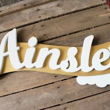 best wooden name signs products on wanelo
