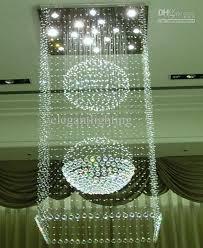 Cream Chandelier Lights Modern Large Crystal Pendant Lamp Raindrop Chandelier Ceiling