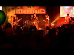 the incredibles wedding band the incredibles live