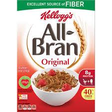 Breakfast Food Cereal Walmart Com by All Bran Original Cereal 18 3 Oz Walmart Com