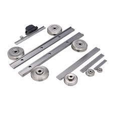 Common Guia linear de rolos / em aço inoxidável / de trilho - DualVee  #CU06