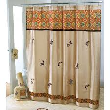 Southwestern Style Curtains Amazing Southwest Style Shower U Curtain Design Picture For