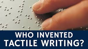 Blind Write Who Invented A Writing System For The Blind Louis Braille Youtube